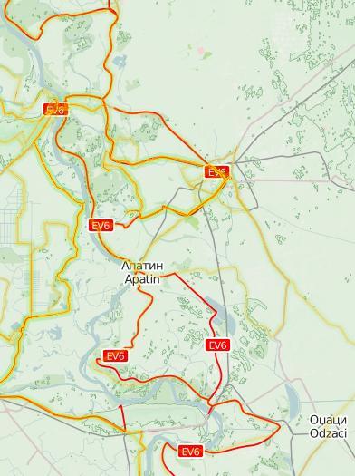 Gornje Podunavlje - biciklisticka staza